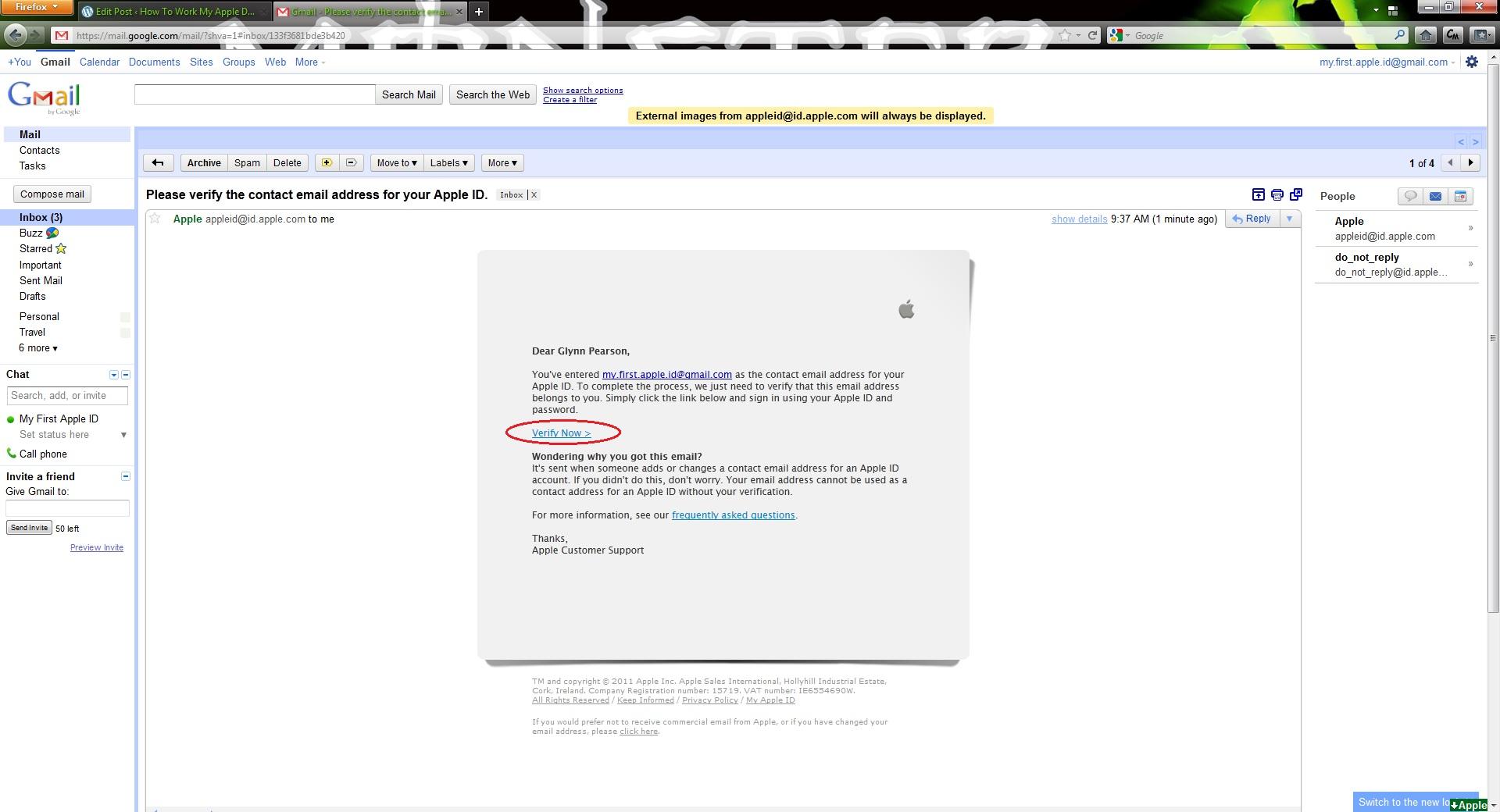 Clicking email link opens Internet Explorer...