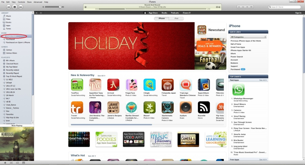 How to Make an Apple ID in iTunes (2/6)