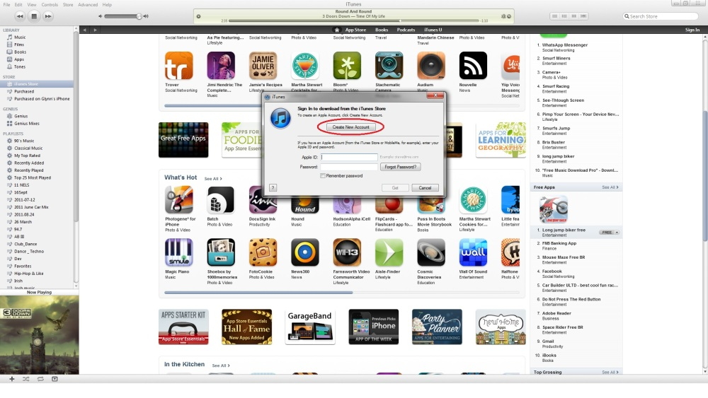 How to Make an Apple ID in iTunes (4/6)