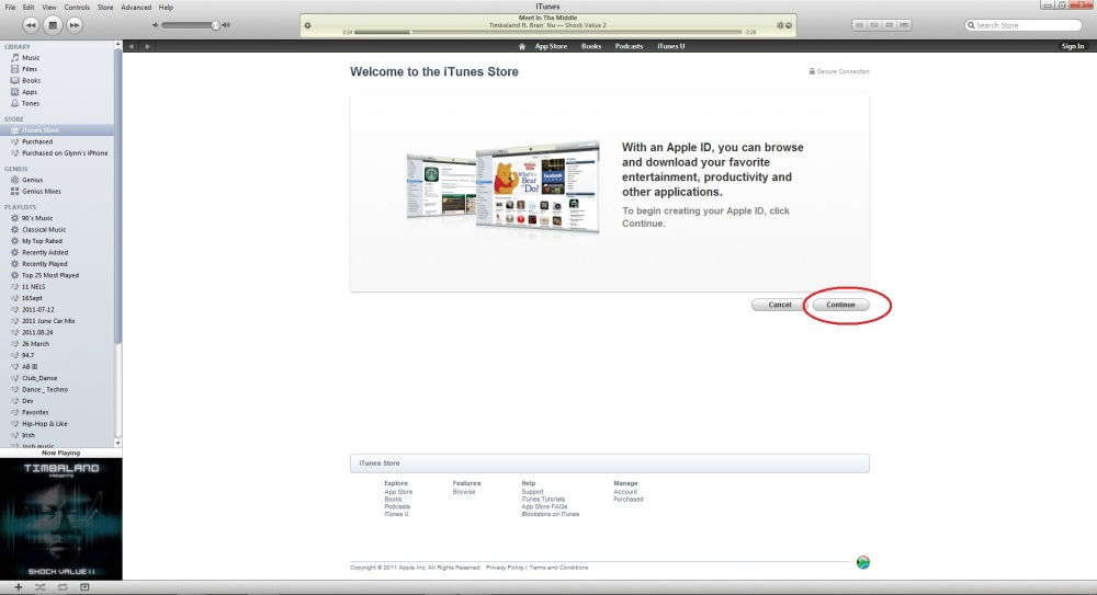 How to Make an Apple ID in iTunes (6/6)