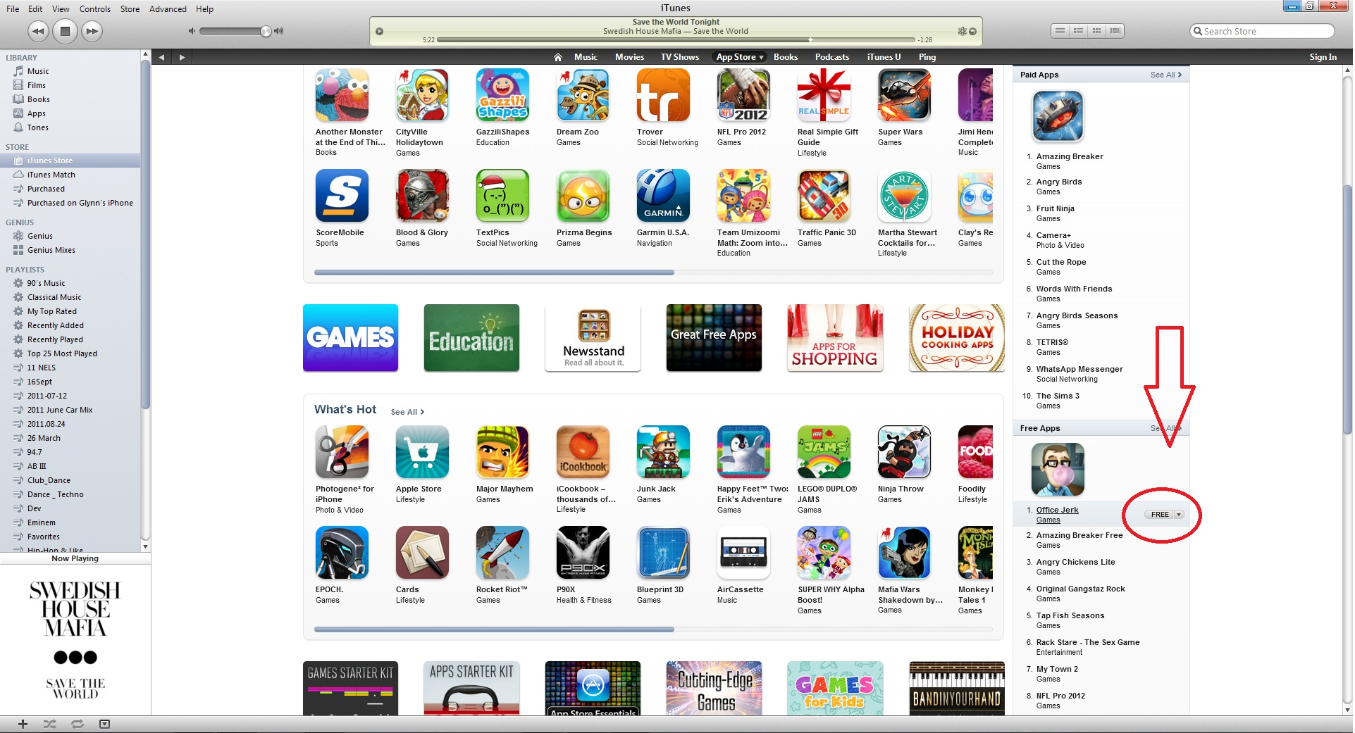 How to download apps to my ipod from itunes