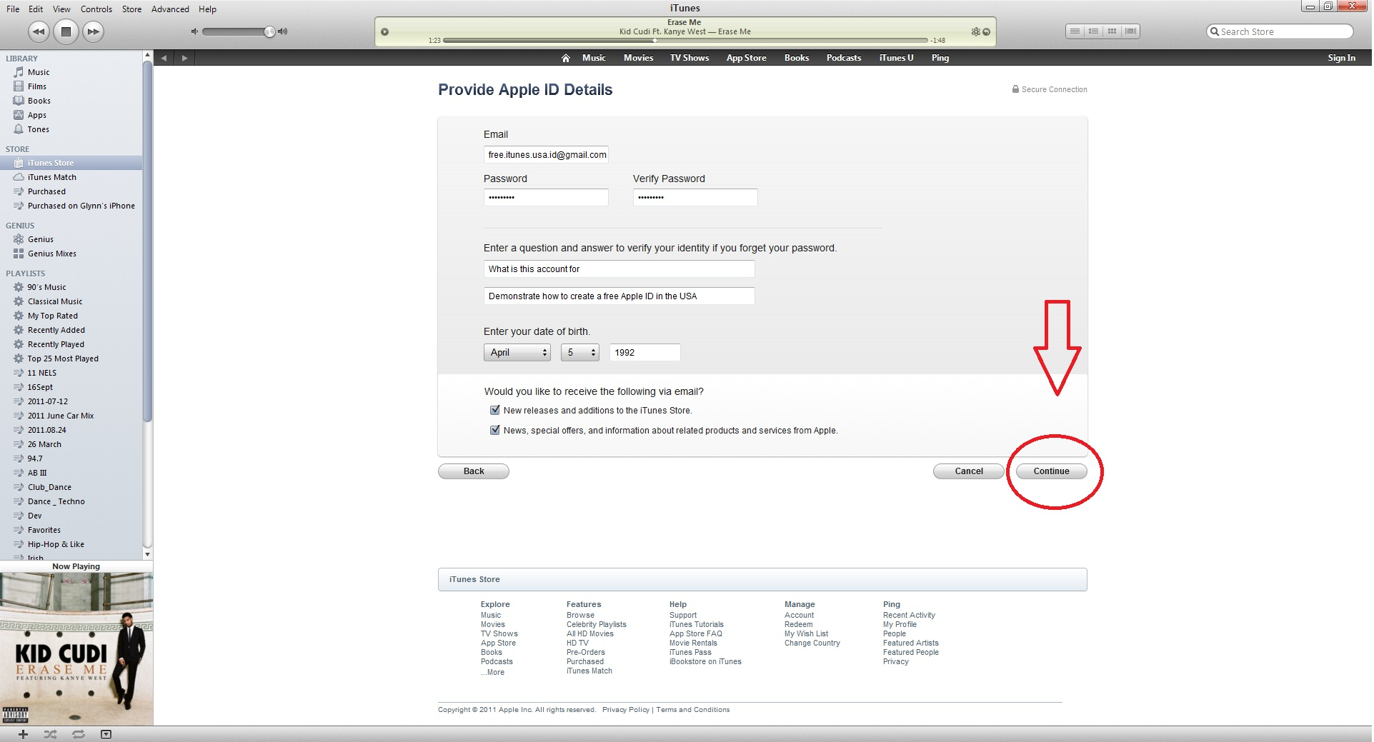 Creating a USA or UK iTunes Account | How To Work My Apple
