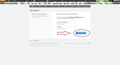 Fill In apple ID Details