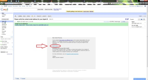 Verify Email Click Verify Now