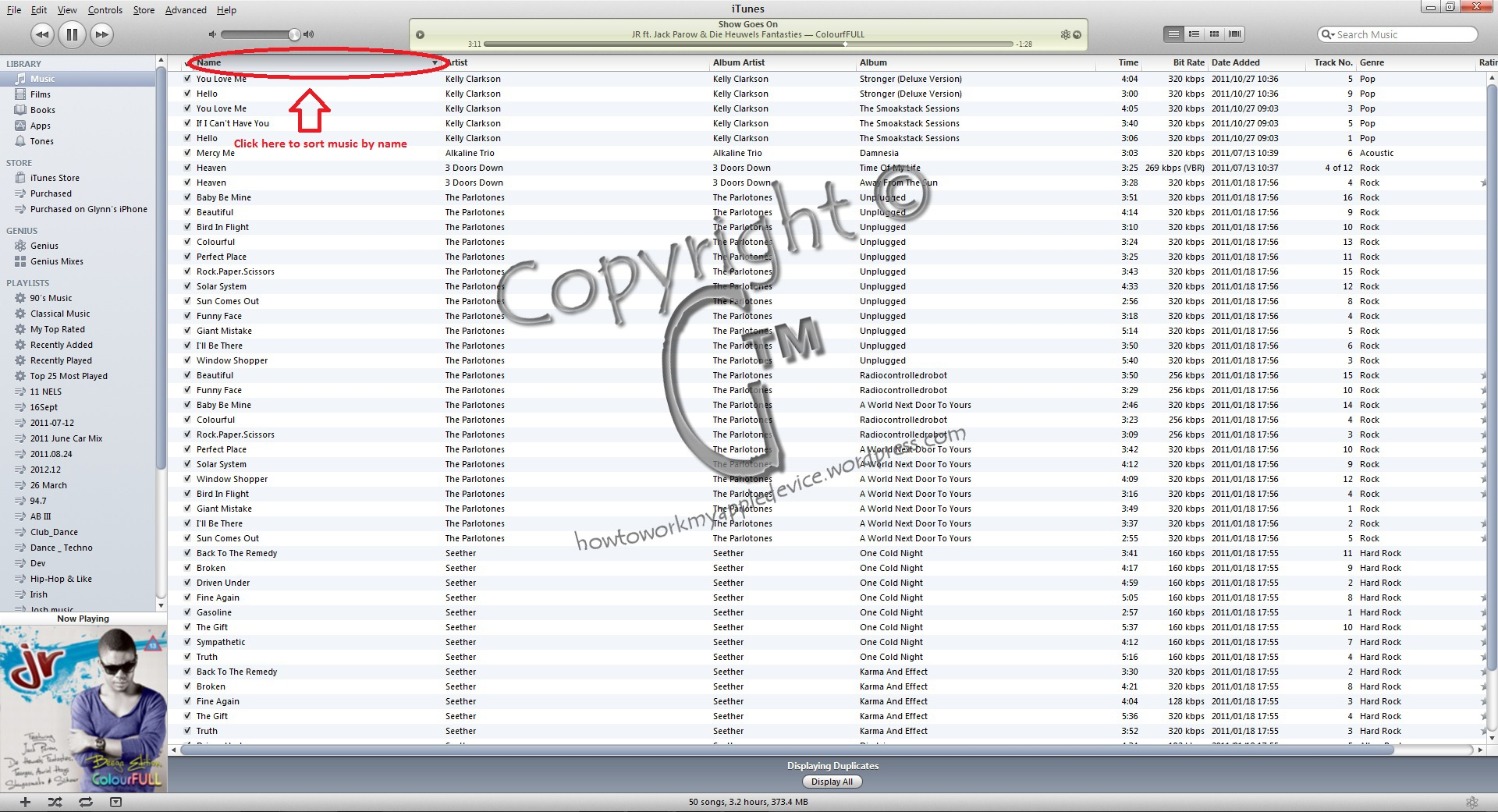 how to delete multiple duplicate songs in itunes