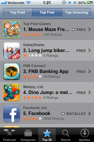 Choose any Free App