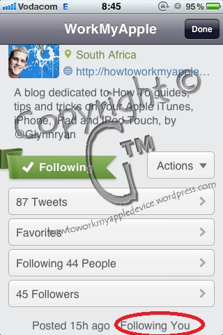 Twitteriffic Work My Apple Device Profile Page Main