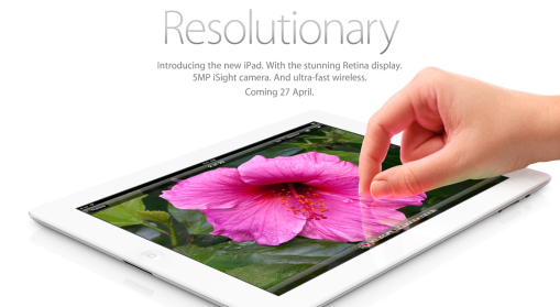 New iPad Launch Date