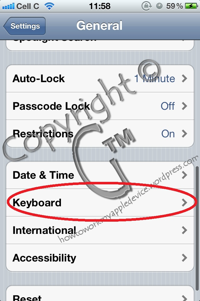 Keyboard Dictionary Wont Reset? Here's How To Fix That!  (3/6)