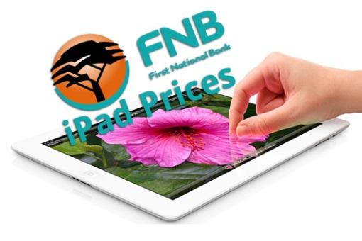 FNB iPad Prices
