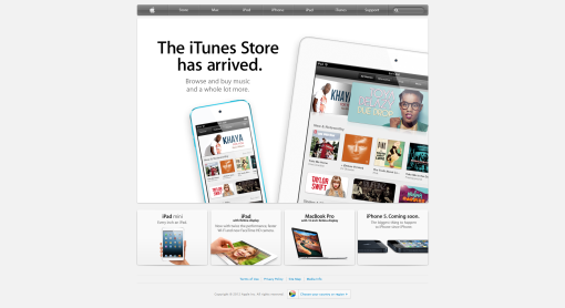 Apple South Africa Website Home